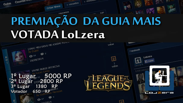 Promo��o: A Build mais Votada.