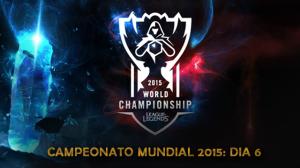 Campeonato Mundial 2015 - Dia 6