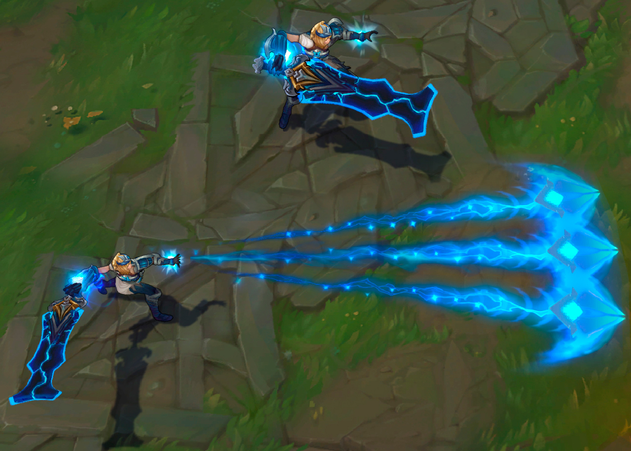 Skin Riven Campeonato in game